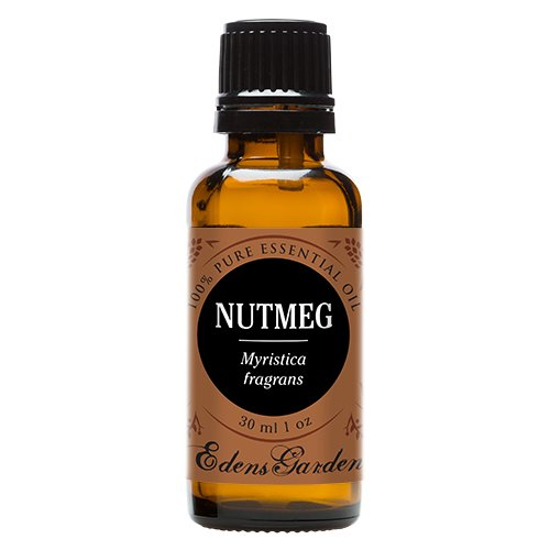 Nutmeg 100% Pure Therapeutic Grade Essential Oil by Edens Garden- 30 ml