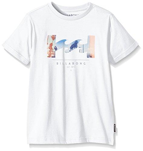 Billabong T-shirt a maniche corte Traverse, da ragazzo Bianco bianco 8