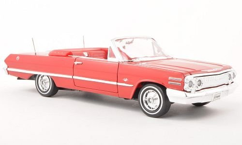 chevrolet-impala-red-1963-model-car-ready-made-welly-124-by-chevrolet