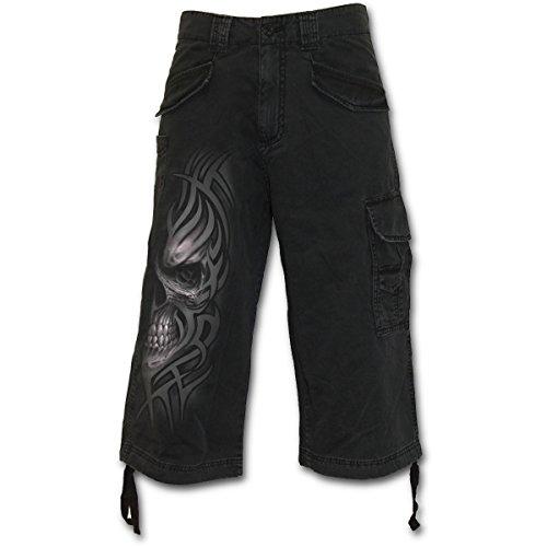 Spiral Death Rage Pantaloncini Vintage nero S