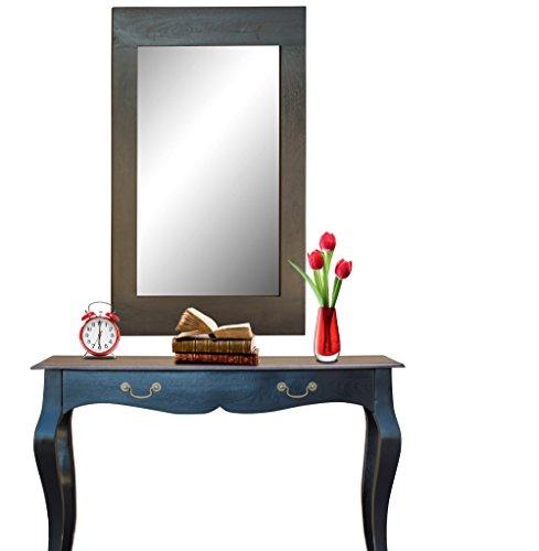 Mirror Frame In Walnut Finish By Furniselan - B06WWNJ7K3
