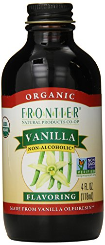 Frontier Organic Vanilla Flavoring, 4 Ounce front-615369
