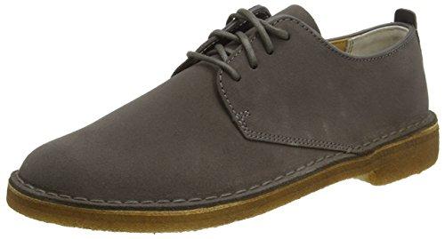clarks-desert-london-scarpe-stringate-uomo-grigio-charcoal-suede-44-eu