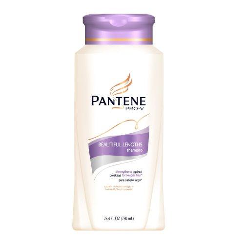 Pantene Shampoo, Beautiful Lengths, 25.4-Ounce Bottle ...