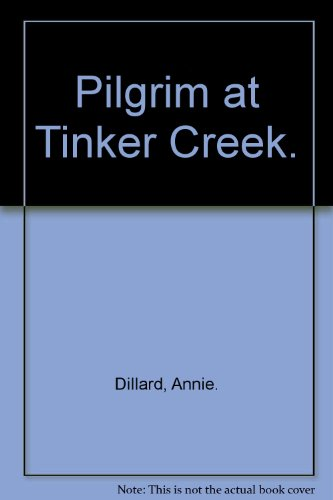 an analysis of annie dillards pilgrim at tinker creek Pilgrim at tinker creek summary & study guide includes detailed chapter summaries and analysis topics for discussion on pilgrim at tinker creek by annie dillard.