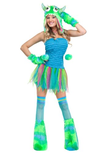 FunWorld Sexy Beast Monster Adult Costume