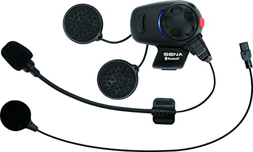 6edd2d4a327 Sena Bluetooth Headset and Intercom for Scooters/Motorcycles with Universal  Microphone Kit