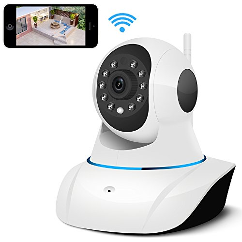 IP Camera, UOKOO 720P WiFi Security Camera Internet Surveillance