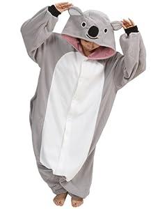 Ninimour- Pajamas Anime Costume Adult Animal Cosplay (XL, Gray)