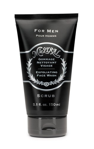 Mistral Men's Personal Care Exfoliating Face