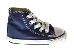 Converse Chuck Taylor All Star Hi Baby Toddlers Sneakers Blue/White 7j233 (7 M US)