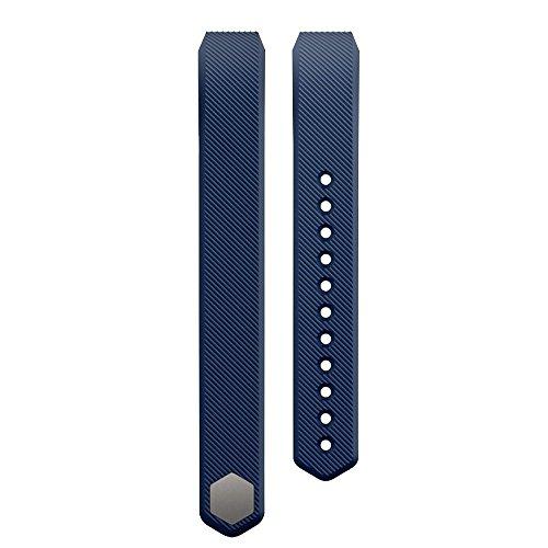 Skitic Fitbit Alta Cinturino Braccialetto del Silicone Banda di Ricambio, Wristband del Bracelet Polsino Strap per Fitbit Alta Intelligente Vigilanza di Forma Fisica, Piccolo - Blu scuro