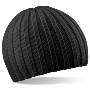 BEECHFIELD CHUNKY KNIT BEANY BEANIE HAT - 3 COLOURS