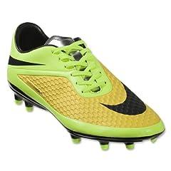 Nike Hypervenom Phelon FG (Vibrant Yellow Metallic Silver Volt Ice) by Nike