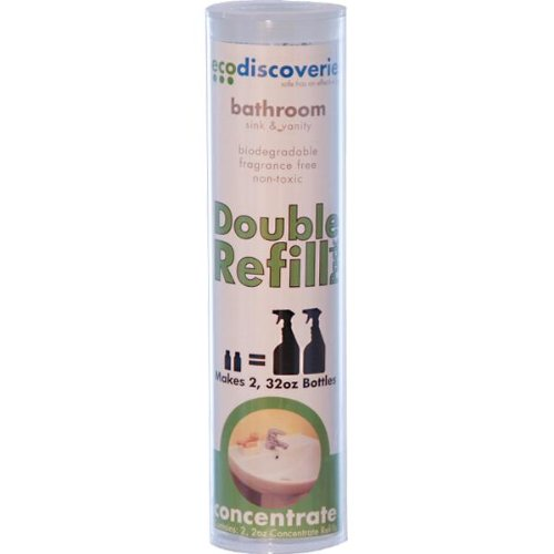 Eco Friendly Safe Bathroom Cleaner 2 oz Concentrate (2 pk-makes 64 oz)