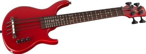 Kala S-U-B U-Bass Solid Body Ukulele Bass Guitar Satin Red 2013 Model