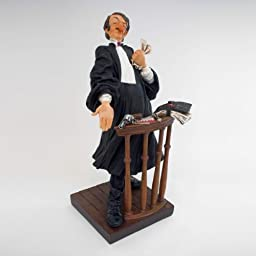 Guillermo Forchino\'s The Lawyer Statue Sculpture Comic Art Figurine