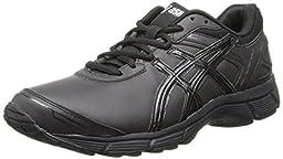 Asics Men\'s Gel-Quickwalk 2 Sl Walking Shoe,Black/Onyx/Silver,13 M US