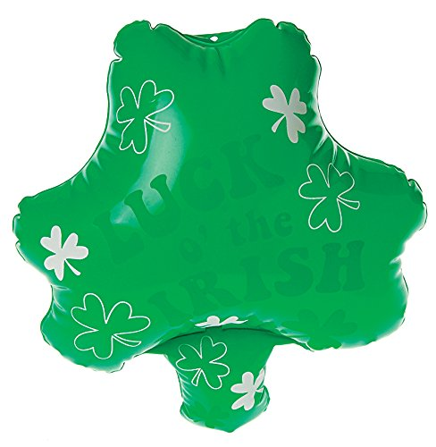 One Inflatable St. Patrick's Day Shamrock Clover