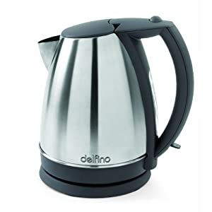 Toastess DLJK459 Jug Kettle, Stainless Steel