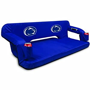 NCAA Penn State Nittany Lions Reflex Portable Travel Couch by Picnic Time