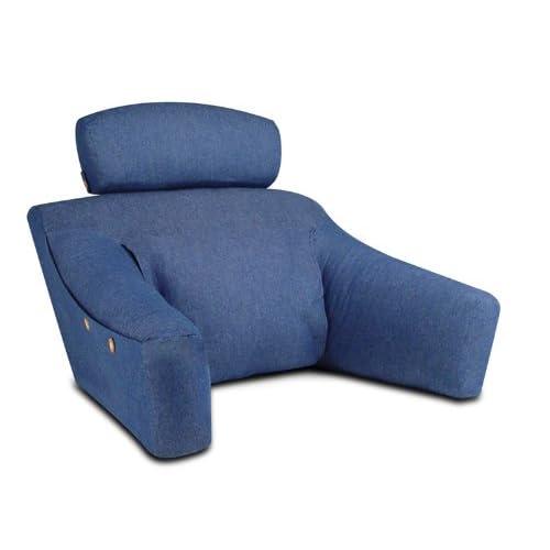 bedlounge hypoallergenic regular size denim cotton cover. Black Bedroom Furniture Sets. Home Design Ideas