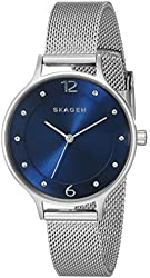 Skagen Women's SKW2307 Anita Crystal-Accented Stainless Steel Watch