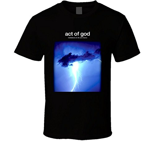 Michaner Walosde Act of God Movie T Shirt X-Large