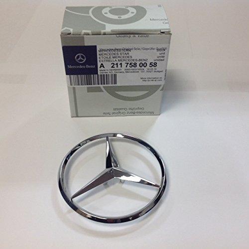 MERCEDES-BENZ 2117580058 GENUINE OEM EMBLEM (2006 Mercedes Benz E350 Emblem compare prices)
