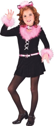 Child Marabou Cat Costume - Small (4-6)