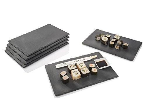 schiefer-platten-set-6-teilig-20x30cm-tisch-untersetzer-servierplatten-4-gummifusse-zum-schutz-ihrer