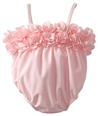Kate Mack Baby-Girls Newborn Blooming Roses Swim Buble, Pink, 3 Months