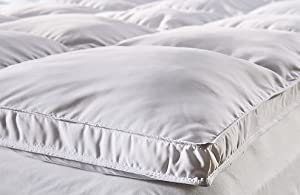 "Toppers microfibre Cotton Mattress Toppers, All sizes 1500g Filling= 2"" loft (King)"