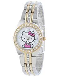 Hello Kitty HK1391 Two Tone Bracelet