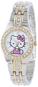 Hello Kitty Women's HK1391 Two-Tone Bracelet Watch
