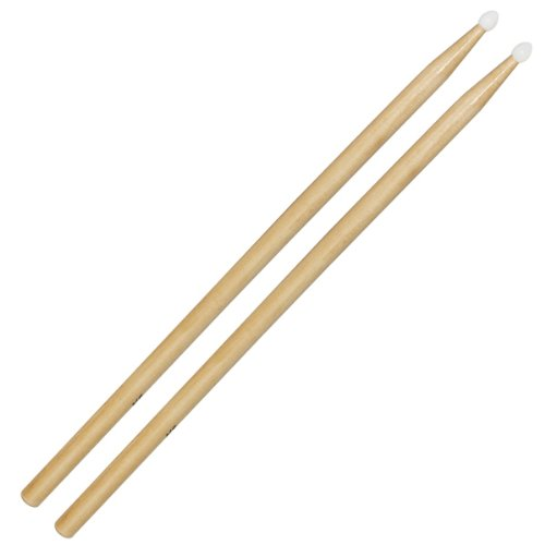 Kalos by Cecilio KP_DSTK-WH5A  5a Wooden Drumsticks with Nylon Tips