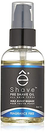 êShave Pre-Shave Oil, Fragrance Free 59 ml