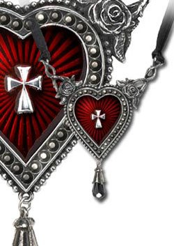Alchemy Gothic The Sacred Heart Pendant