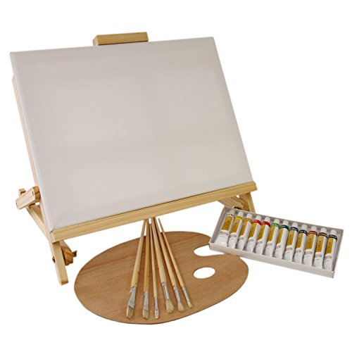 us-art-supply-21-piece-oil-painting-set-with-table-easel