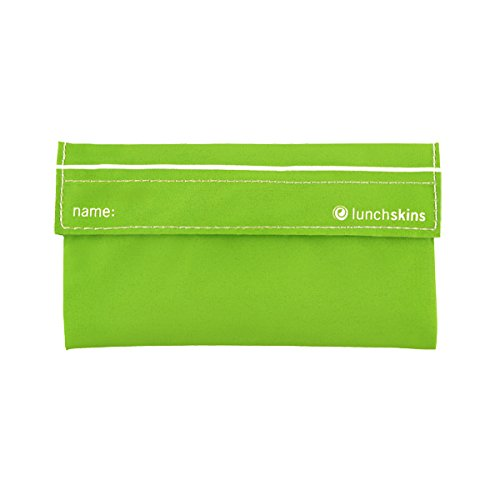Lunchskins Reusable Snack Bag (Green Solid)