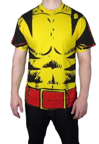 Marvel Wolverine Costume T-shirt
