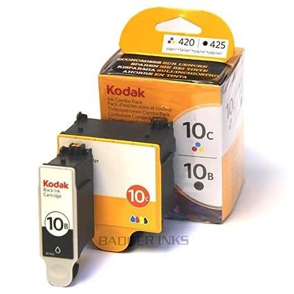 2 Cartouche d'encre pour Imprimante Kodak All-In-One 5500 - Noir / Colour