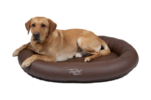 Artikelbild: TrendPet 'Comfado' 110x80cm Espresso, Luxus Hundebett aus Soft-Kunstleder 'Das Hundebett'