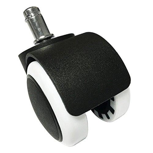 rixow-5x-pezzi-rotelle-pavimenti-duri-ufficio-sedia-rotelle-per-pavimenti-durilaminato-plastica11mm-