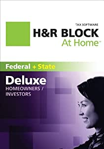 H&R Block At Home Deluxe + State 2011 Mac [Download]