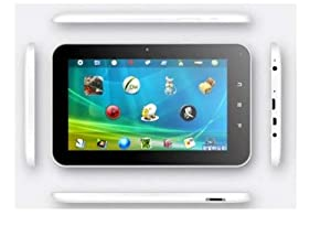"""Zeepad 7XH 7"""" Android 4.0 OS Allwinner A10 Cortex A8 5 points Capacitive Multitouchscreen Pocket Tablet Wifi 3G Internet, HDMI with 4GB Built-in Capacity(White color)"""