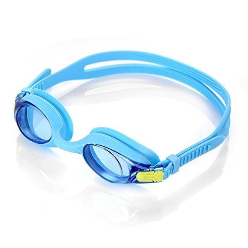 HiCool Kinder Schwimmbrille 100% UV-Schutz + Antibeschlag Wasserdicht Kinder Schwimmbrille 180 ° Weitwinkel Sicht- Farbe Auswahl