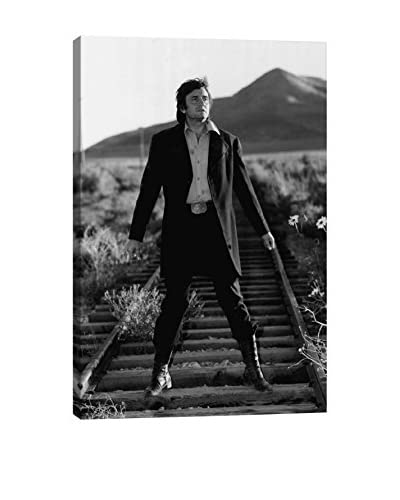 Retro Images Johnny Cash #18 Archive Gallery-Wrapped Canvas Print
