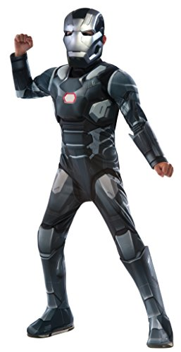 Captain America: Civil War Deluxe Little Boys Muscle Chest War Machine Costume