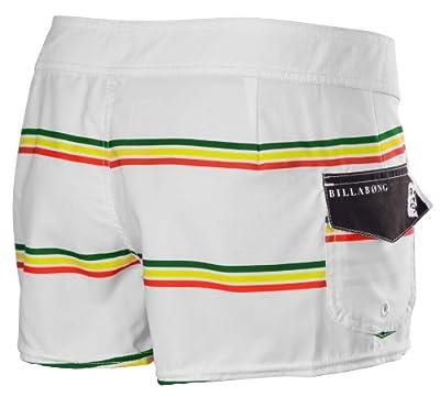 Billabong Juniors Bob Marley Smile Jamaica Board Shorts-White